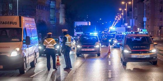 Verkehrskontrollen der Wiener Polizei. (Symbolbild)