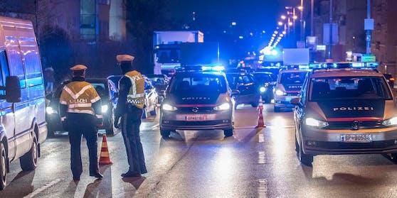 Die Polizei nahm umgehend die Verfolgung auf.