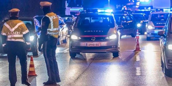 Die Polizei zog den Raser aus dem Verkehr.