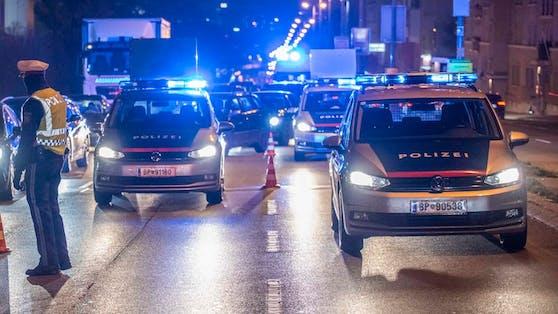 Verkehrskontrollen der Wiener Polizei. Symbolbild