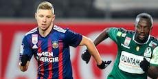 "Rapid-Dauerläufer Ullmann: ""Lieber Match als Training"""