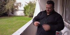 Menowin holt vor TV-Kameras Koks-Packerl aus Tasche