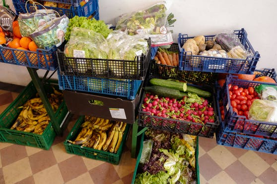 Lebensmittel wie diese landen, obwohl noch genießbar, oft im Müll.