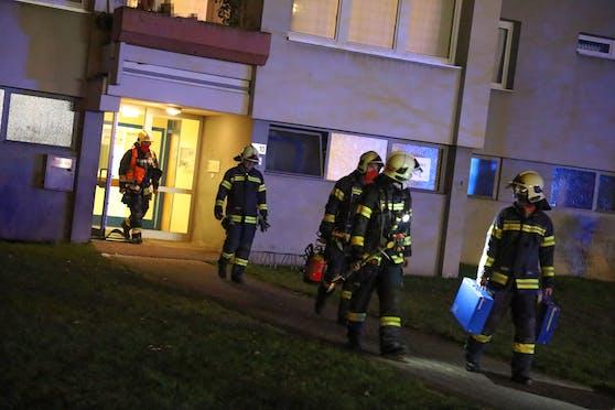 Einsatz Montagabend. Verbranntes Popcorn rief die Feuerwehr auf den Plan.