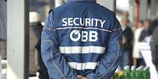 Bahnhofs-Pinkler droht ÖBB-Security mit dem Umbringen