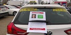 So protestieren Taxler gegen Grüne Ministerin