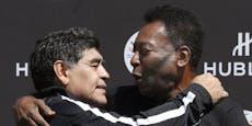 """Maradona-Trauer: """"Spielen im Himmel zusammen Fußball"""""""