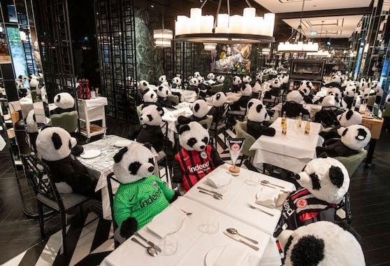 """PANDAmie statt Pandemie ist im Frankfurter Restaurant """"Pino"""" das Motto im Lockdown."""