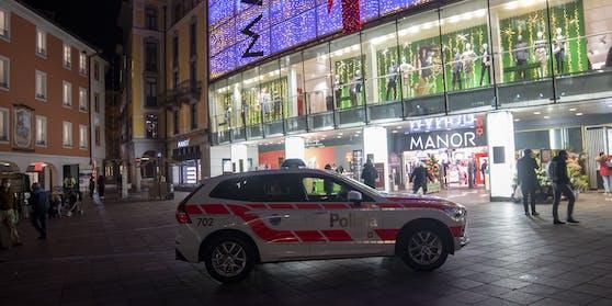 Die Messer-Angreiferin von Lugano ist der Polizei bereits von Ermittlungen zu Jihadismus aus dem Jahr 2017 bekannt.