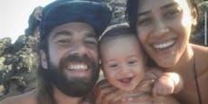 Felsbrocken brechen von Klippe ab, erschlagen Familie
