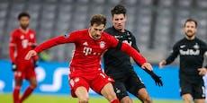 Eiskalte Bayern lösen gegen Bullen Achtelfinal-Ticket