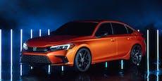 Honda gibt ersten Ausblick auf den neuen Civic