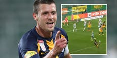 Junuzovic-Volley gegen Rapid das schönste Tor der Welt?