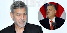 """""""Begrenzt"""": Ungarn-Politiker geht auf Clooney los"""