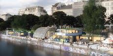 So cool wird der Donaukanal bei der Adria Wien