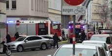 Feuerwehr musste wegen Zimmerbrand in Wien ausrücken