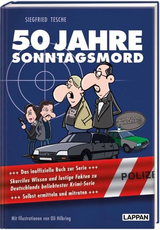 50 Jahre Sonntagsmord: Skurriles Wissen und lustige Fakten zu Deutschlands beliebtester Krimiserie