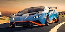 Rennsportler für die Straße: Lamborghini Huracan STO