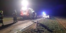35-Jähriger bei Überschlag aus Auto geschleudert – tot