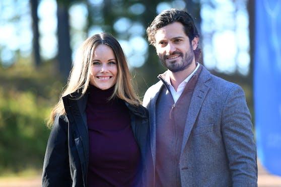 Das sind Prinzessin Sofia und Prinz Carl Philip von Schweden.