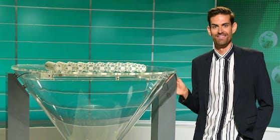 """Ralph Huber-Blechinger moderiert die 3000. Lotto-Ziehung """"6 aus 45"""""""