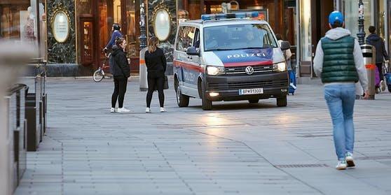 Die Polizei erwischte zwei Raser in der Ruckergasse (Wien-Meidling). (Symbolfoto)