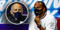 Kennt Lewis Hamilton den Alpha-Tauri-Boss nicht?