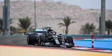 Hamilton dominiert das erste Training in Bahrain