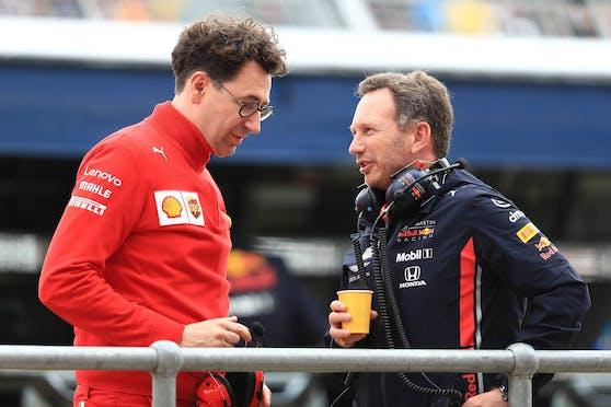 Mattia Binotto stellt Red Bull eine Unterstützung in Aussicht.