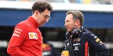 Red Bull bekommt nun Unterstützung von Ferrari
