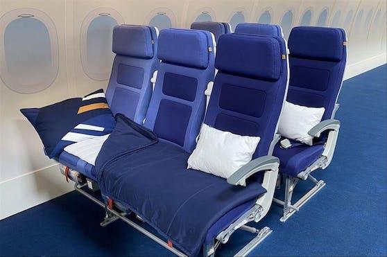 Die Lufthansa nutzt die Corona-Krise für einen Test.