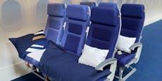 Passagiere bleiben aus: Lufthansa testet Schlafreihen