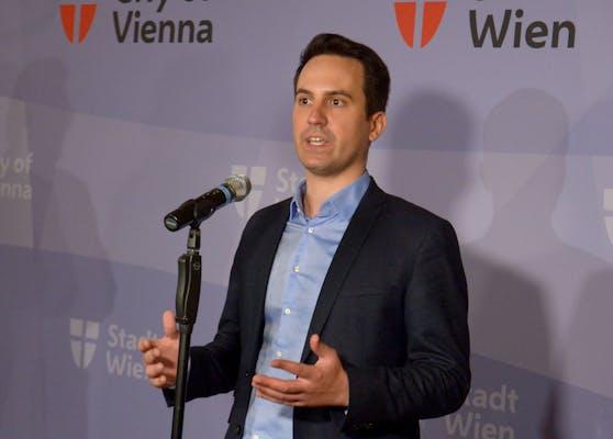 Wiens Vizebürgermeister Christoph Wiederkehr (Neos).