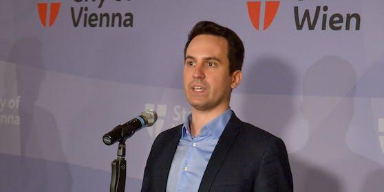 Wiens Vizebürgermeister Christoph Wiederkehr.