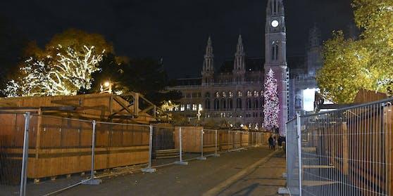 Auch der Christkindlmarkt am Rathausplatz bleibt diesen Winter zu.