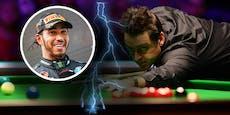 Snooker-Star stichelt gegen Formel-1-Champion Hamilton