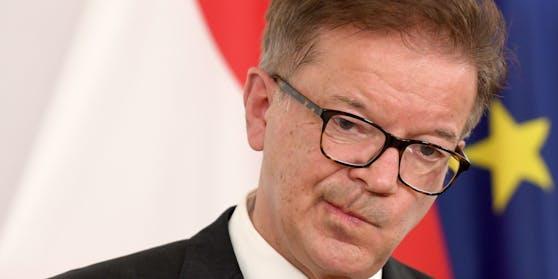Gesundheitsminister Rudolf Anschober (G)
