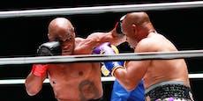 """Box-Opa"" Mike Tyson begeisterte beim Comeback"
