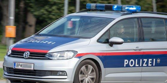 Wiener Polizeiauto im Einsatz