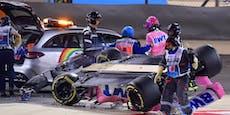 F1-Wahnsinn: Flammen-Inferno, Überschlag, Hamilton-Sieg