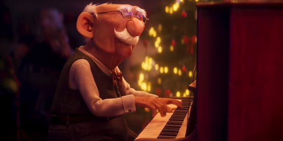 Opa Edgar rührt im Weihnachsfilm der Ersten.