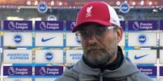Liverpool-Coach Klopp liefert sich Duell mit Reporter