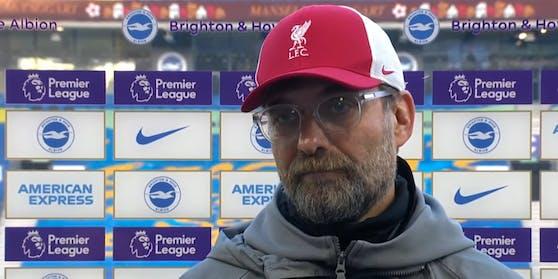 Jürgen Klopp beim TV-Interview
