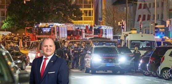 Nationalrat Alois Schroll war am Schwedenplatz