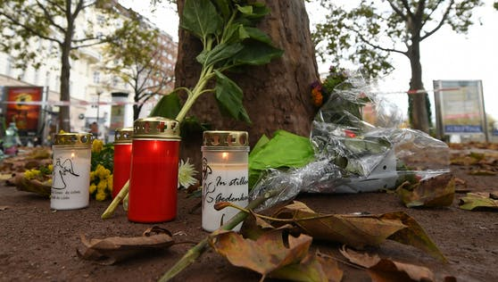Gedenken an die Terror-Opfer in Wien.