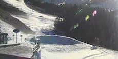 Skigebiete rüsten sich schon für Saisonstart
