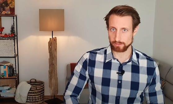 """""""Impf-fluencer""""Martin Moder will auf YouTube informieren."""