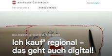"""Start der neuen Plattform """"Kaufhaus Österreich"""""""