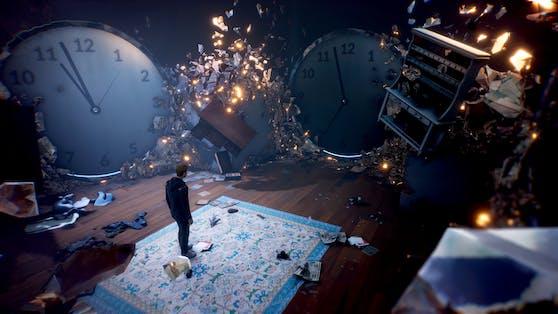 In seinemKristall-Gedächtnispalast setztSam Higgs Bruchstücke zusammen.