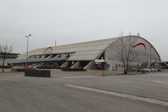 Die Arena Nova in Wr. Neustadt: Deutlich mehr Teststraßen kommen